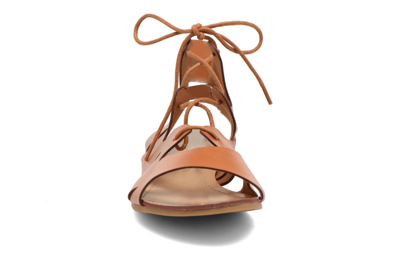 Sandales et nu-pieds Eclipse Sandale Lilly Marron vue portées chaussures