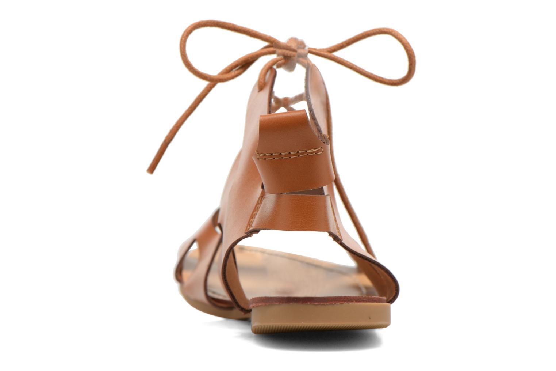 Sandales et nu-pieds Eclipse Sandale Lilly Marron vue droite
