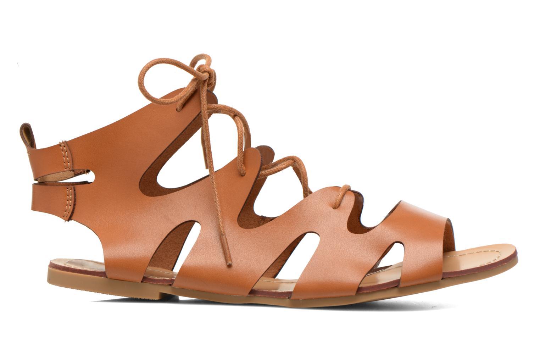 Sandales et nu-pieds Eclipse Sandale Lilly Marron vue derrière