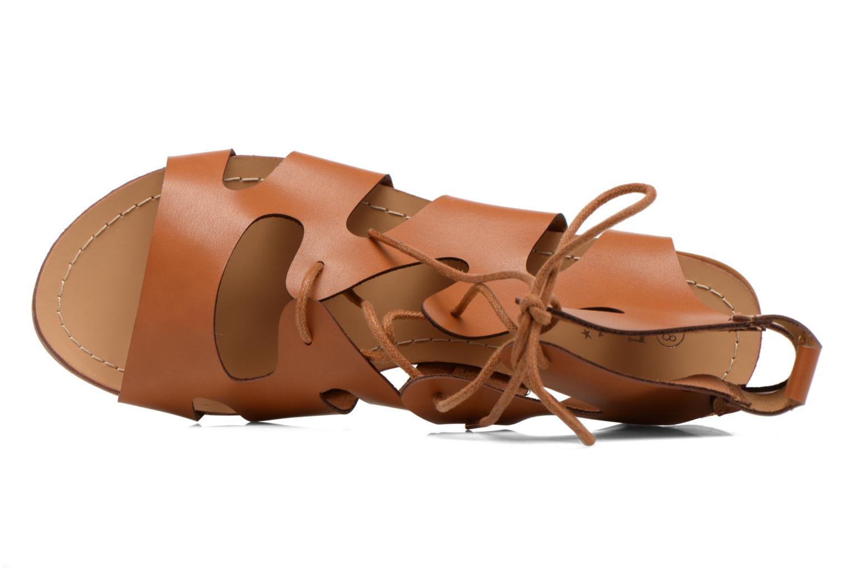 Sandales et nu-pieds Eclipse Sandale Lilly Marron vue gauche
