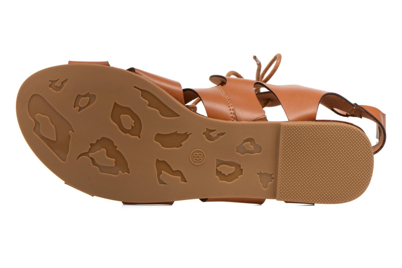 Sandales et nu-pieds Eclipse Sandale Lilly Marron vue haut