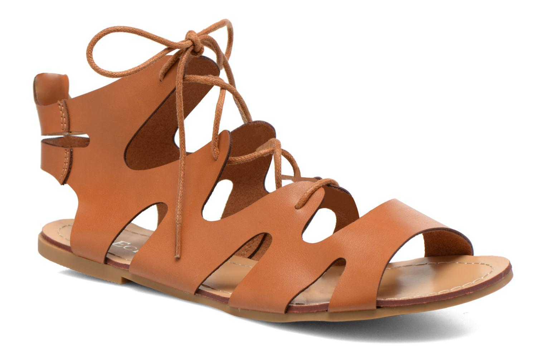 Sandales et nu-pieds Eclipse Sandale Lilly Marron vue détail/paire
