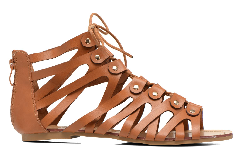 Sandales et nu-pieds Eclipse Sandale Ziggy Marron vue derrière