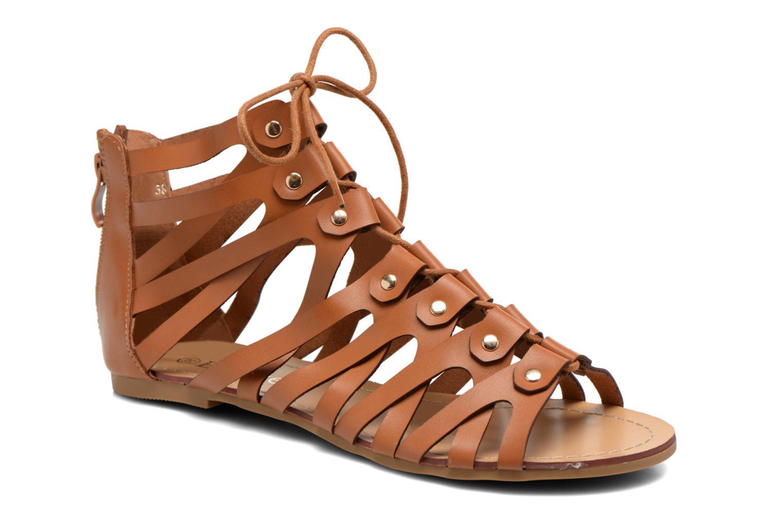 Sandales et nu-pieds Eclipse Sandale Ziggy Marron vue détail/paire