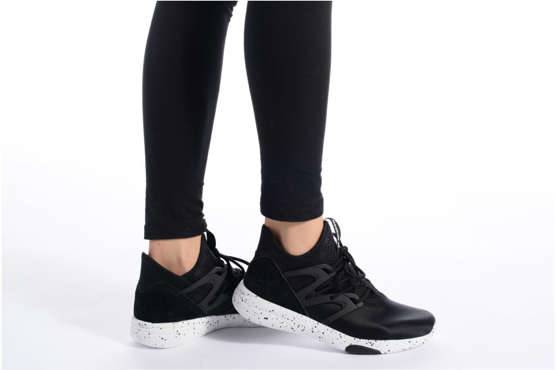 Chaussures de sport Reebok Hayasu Bleu vue bas / vue portée sac