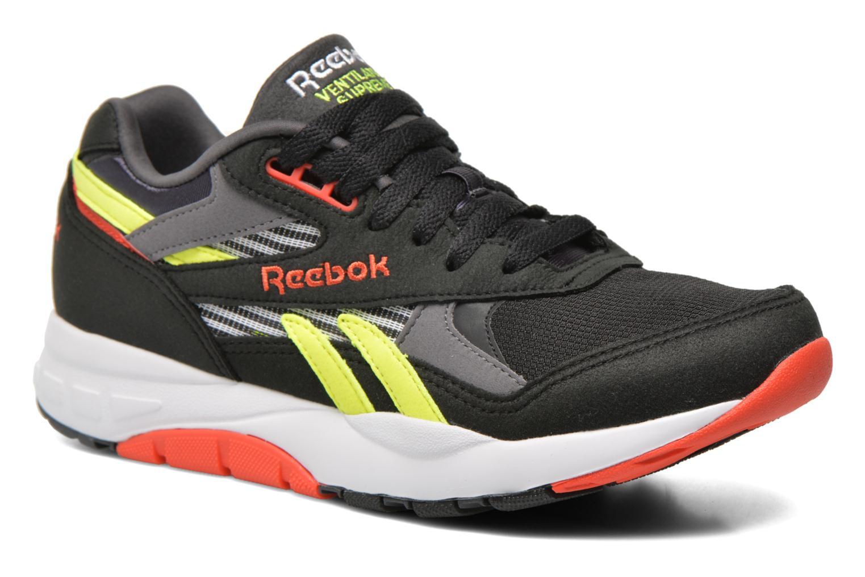 Deportivas Reebok Ventilator Supreme R90 Negro vista de detalle / par