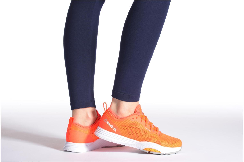 Chaussures de sport Reebok Cardio Ultra 2.0 Orange vue bas / vue portée sac