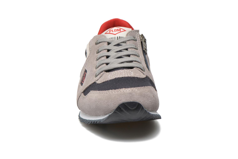 Sneakers P-L-D-M By Palladium Fabeo Nyl Grigio modello indossato