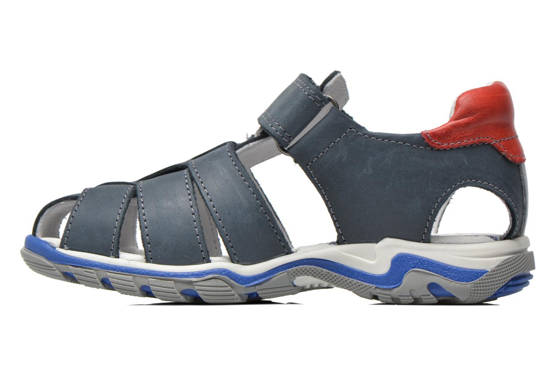 Sandales et nu-pieds Babybotte Kargo Bleu vue face
