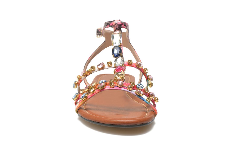 Sandales et nu-pieds Buffalo Glou Multicolore vue portées chaussures