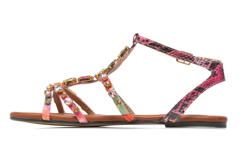 Sandales et nu-pieds Buffalo Glou Multicolore vue face