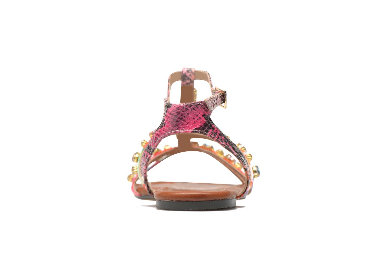 Sandales et nu-pieds Buffalo Glou Multicolore vue droite