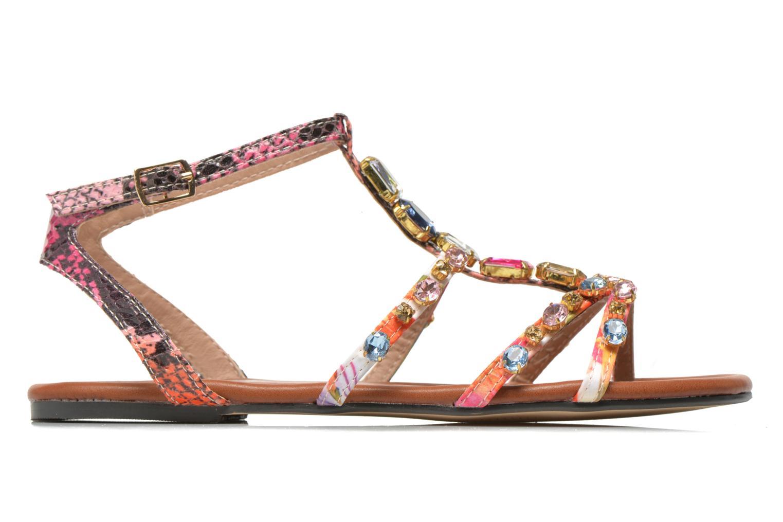 Sandales et nu-pieds Buffalo Glou Multicolore vue derrière