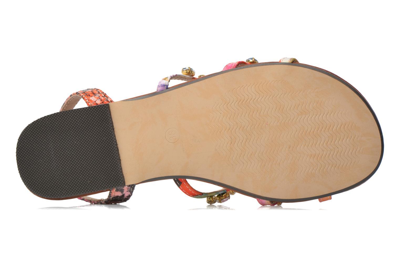 Sandales et nu-pieds Buffalo Glou Multicolore vue haut
