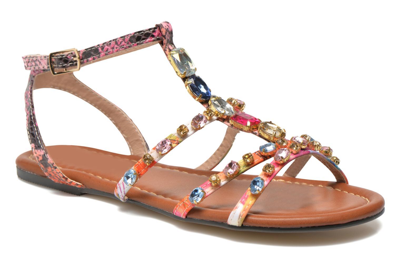 Sandales et nu-pieds Buffalo Glou Multicolore vue détail/paire