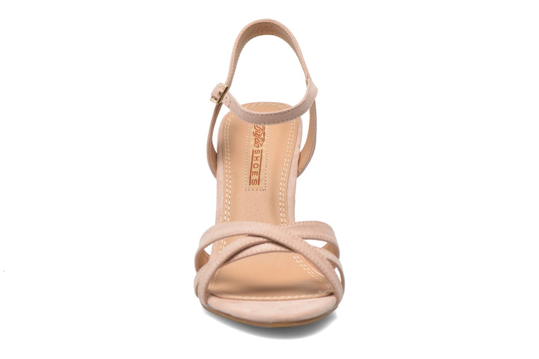 Sandales et nu-pieds Buffalo Ydi Beige vue portées chaussures