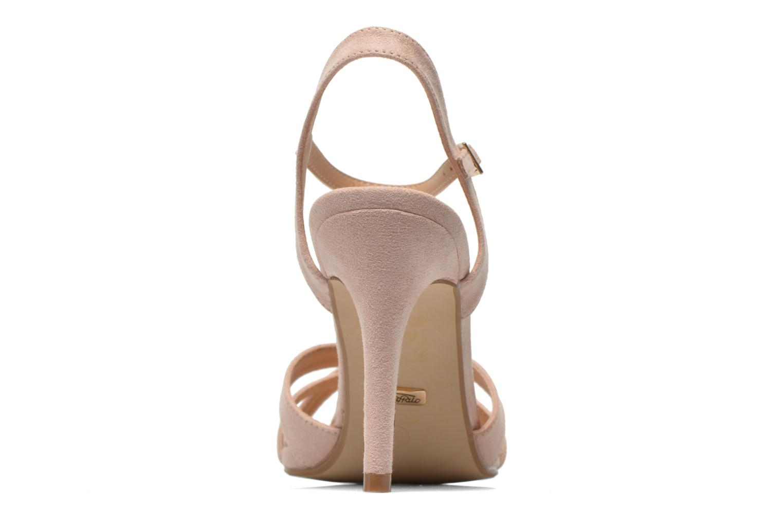 Sandales et nu-pieds Buffalo Ydi Beige vue droite