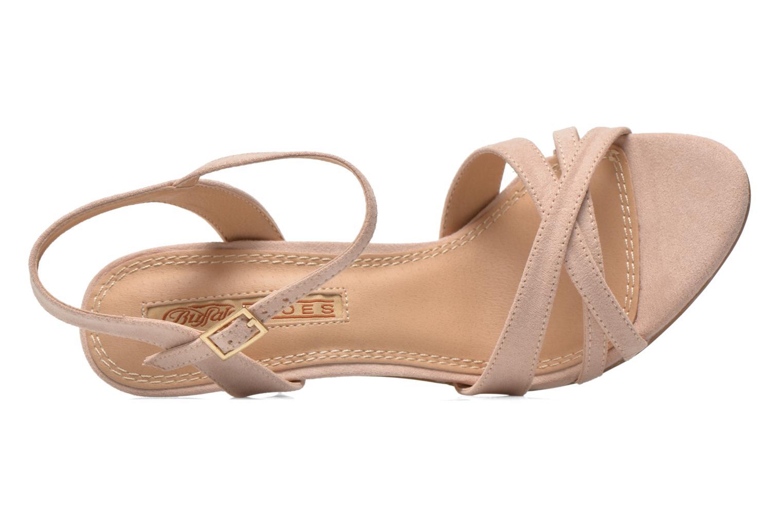 Sandales et nu-pieds Buffalo Ydi Beige vue gauche