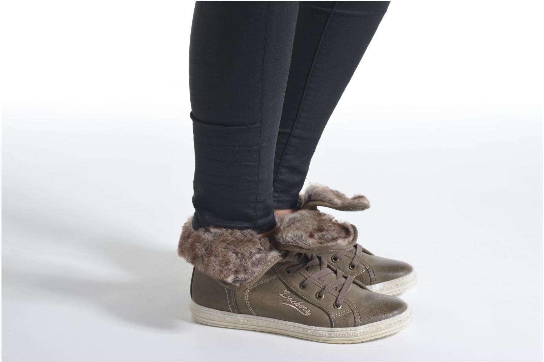 Sneakers Dockers Makira Marrone immagine dal basso