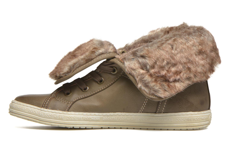 Sneakers Dockers Makira Marrone immagine frontale