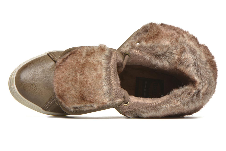 Sneakers Dockers Makira Marrone immagine sinistra