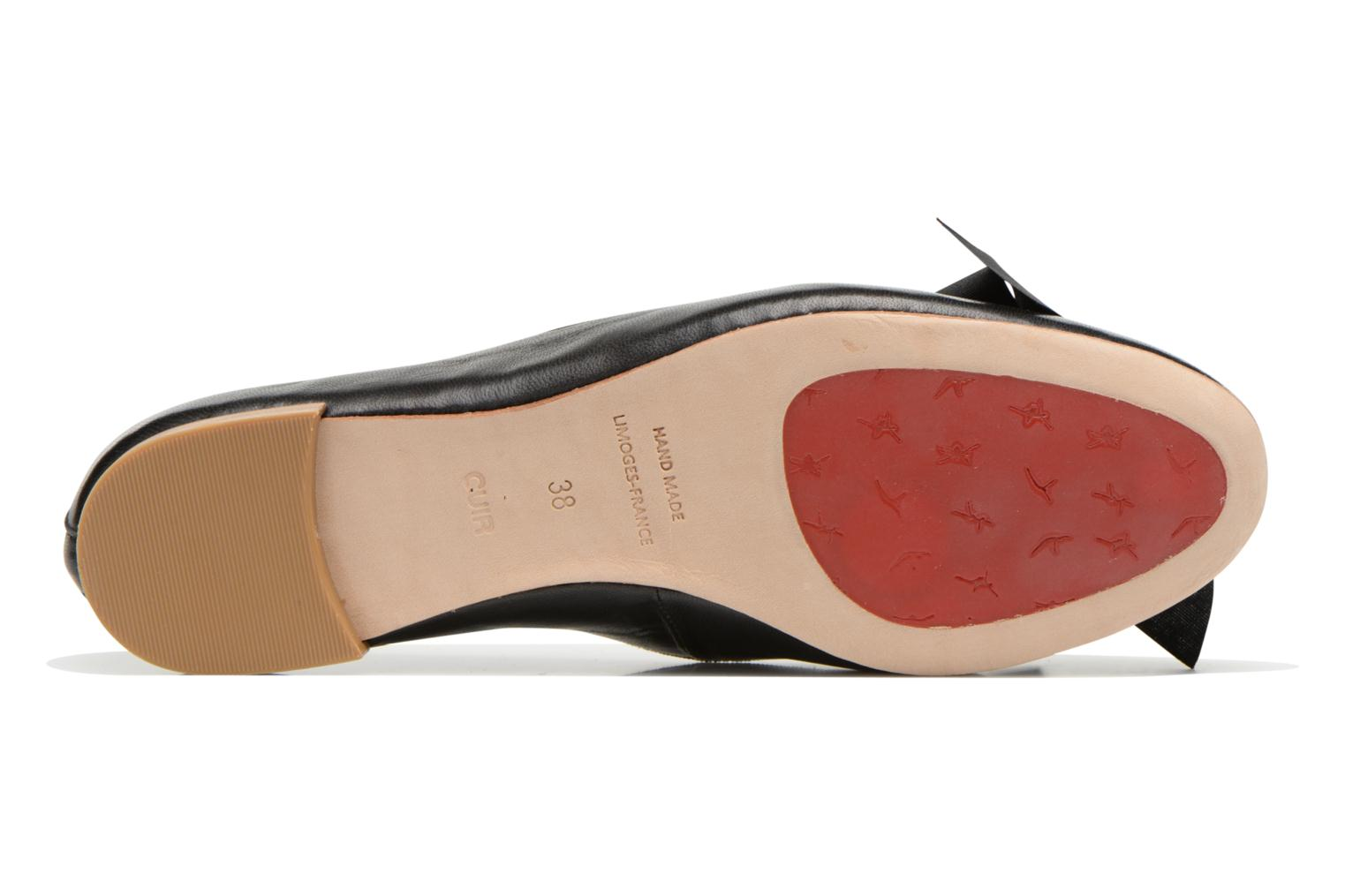 Ballet pumps Opéra national de Paris Endol Black view from above