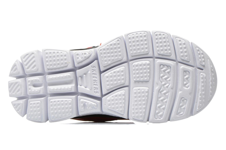 Sneakers Skechers Flex Advantage-Mini Rush Rosso immagine dall'alto