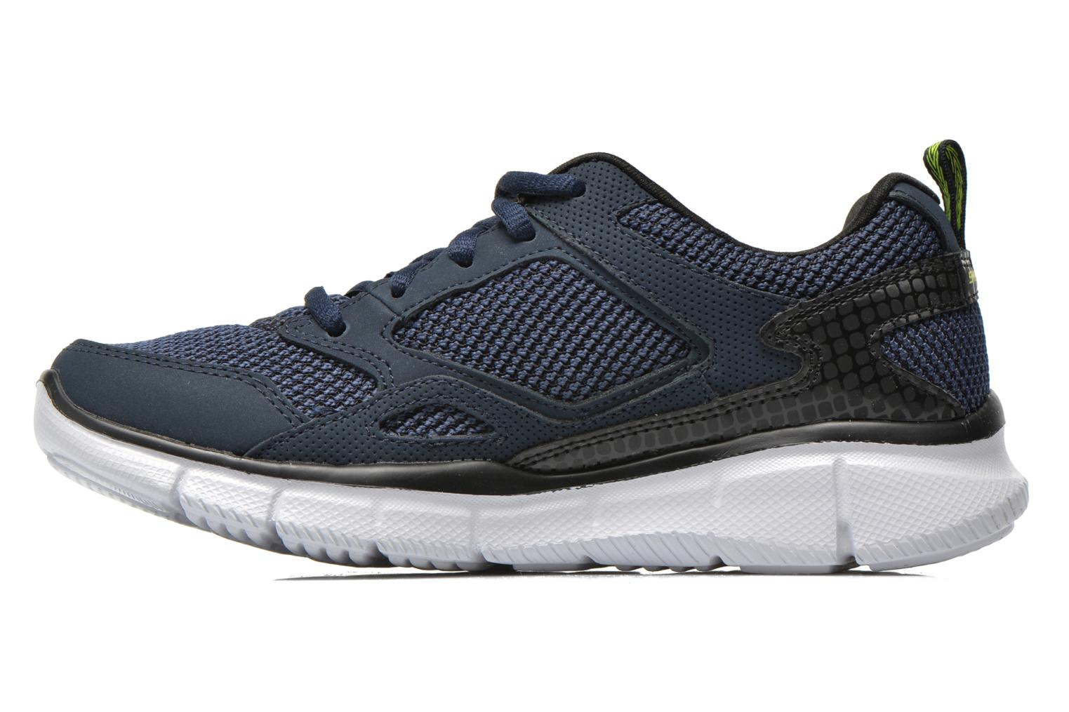 Chaussures de sport Skechers Equalizer- Game Point Bleu vue face