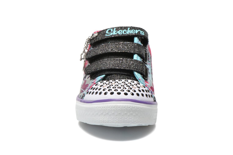 Baskets Skechers Twinkle Breeze Pop-Tastic Multicolore vue portées chaussures
