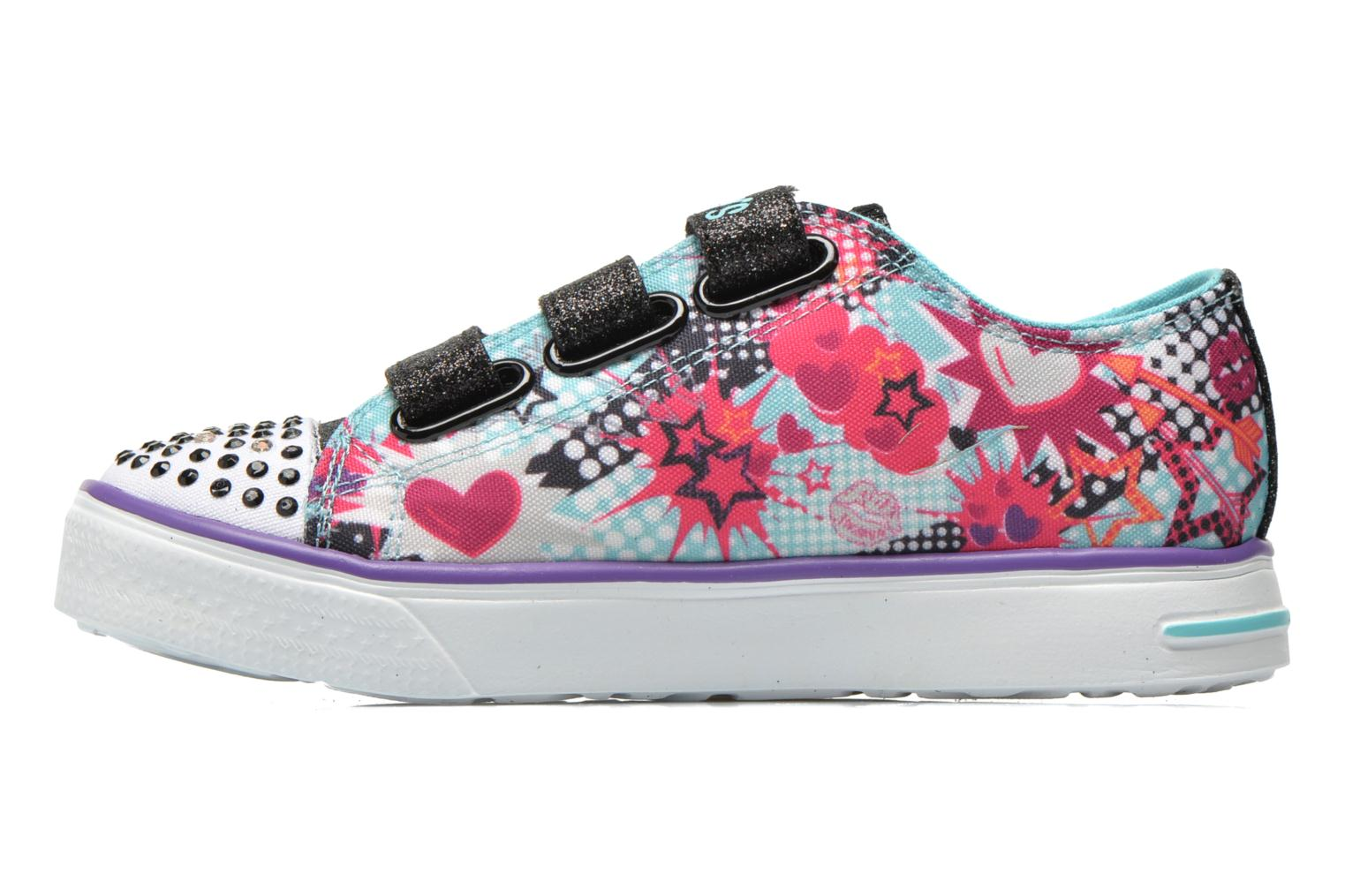Turquoise Skechers Twinkle Breeze Pop-Tastic (Multicolore)