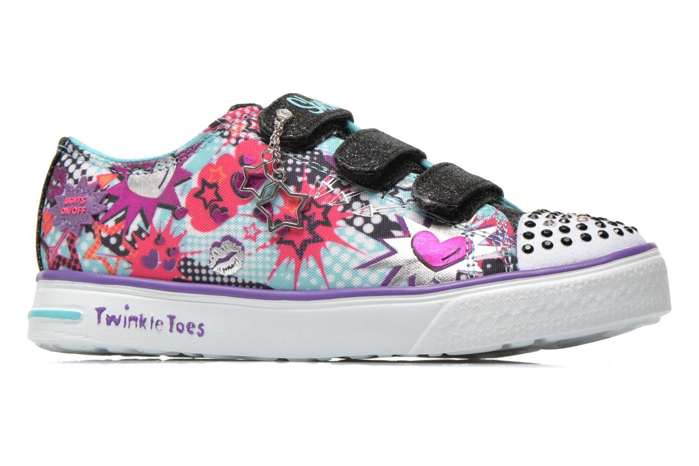 Baskets Skechers Twinkle Breeze Pop-Tastic Multicolore vue derrière