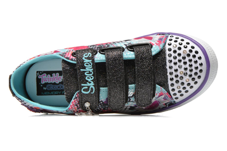 Baskets Skechers Twinkle Breeze Pop-Tastic Multicolore vue gauche