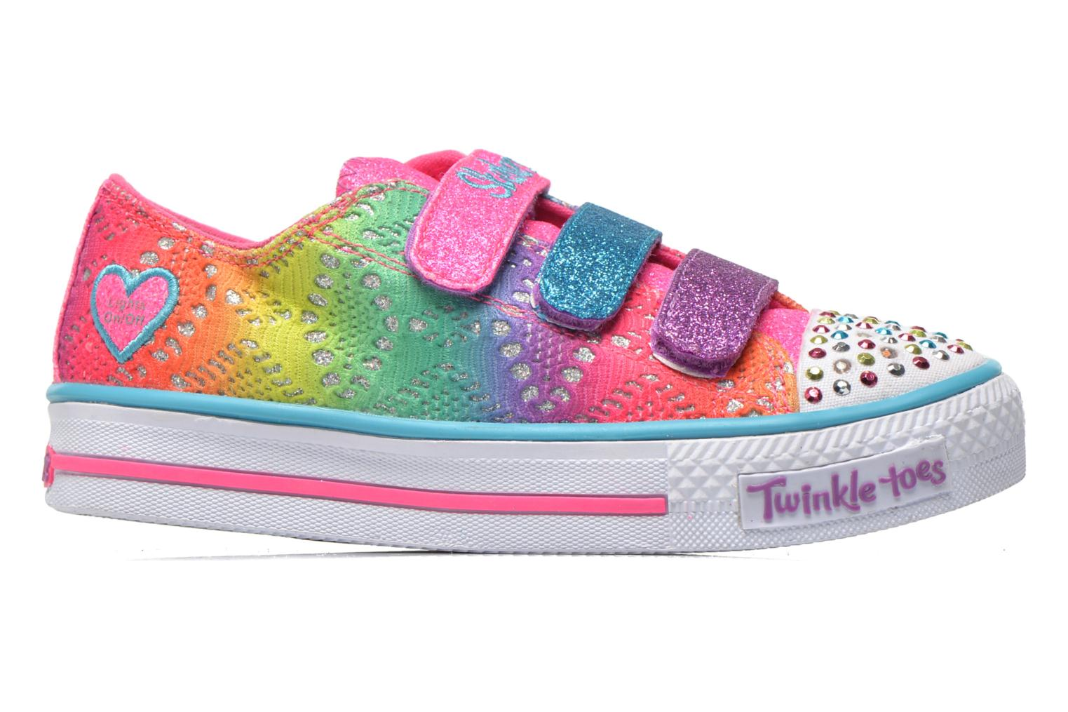Baskets Skechers Shuffles- Rainbow Madness Multicolore vue derrière