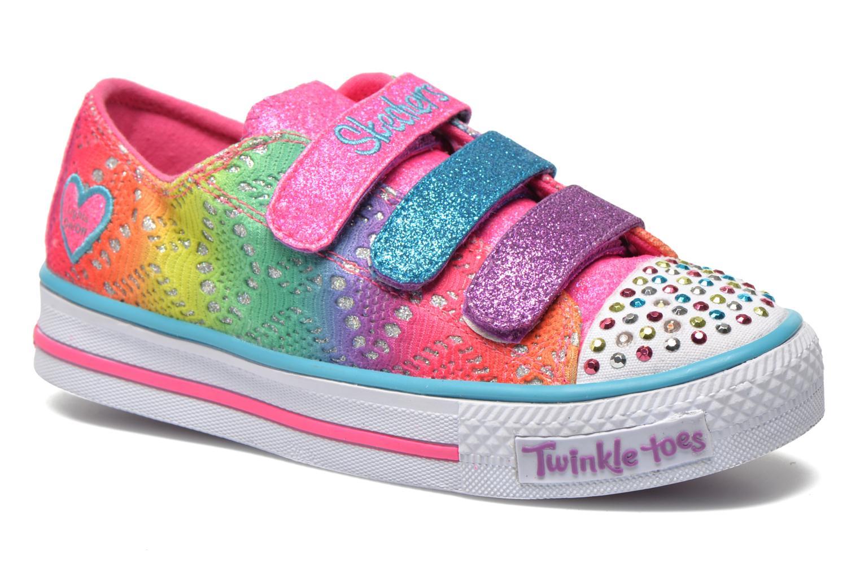 Baskets Skechers Shuffles- Rainbow Madness Multicolore vue détail/paire