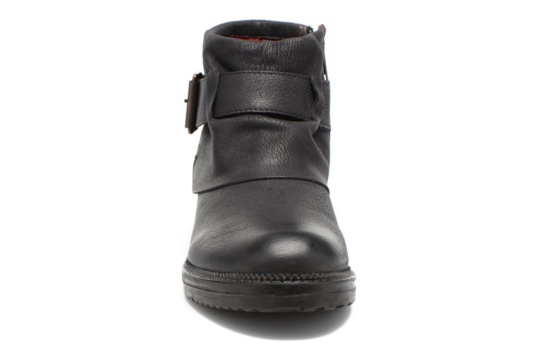 Bottines et boots Kickers Rotary Noir vue portées chaussures
