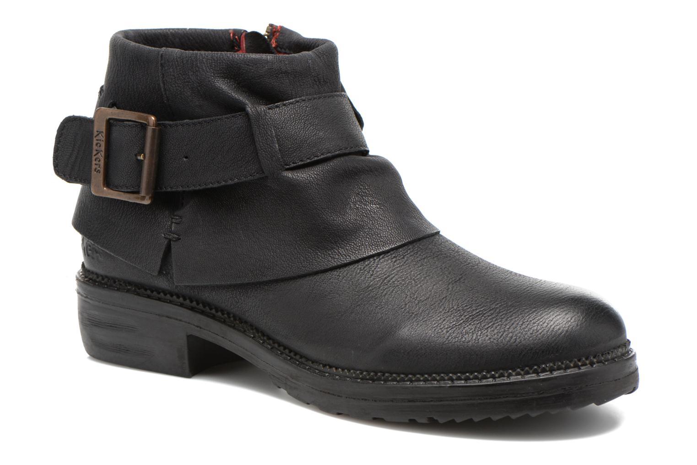 Bottines et boots Kickers Rotary Noir vue détail/paire