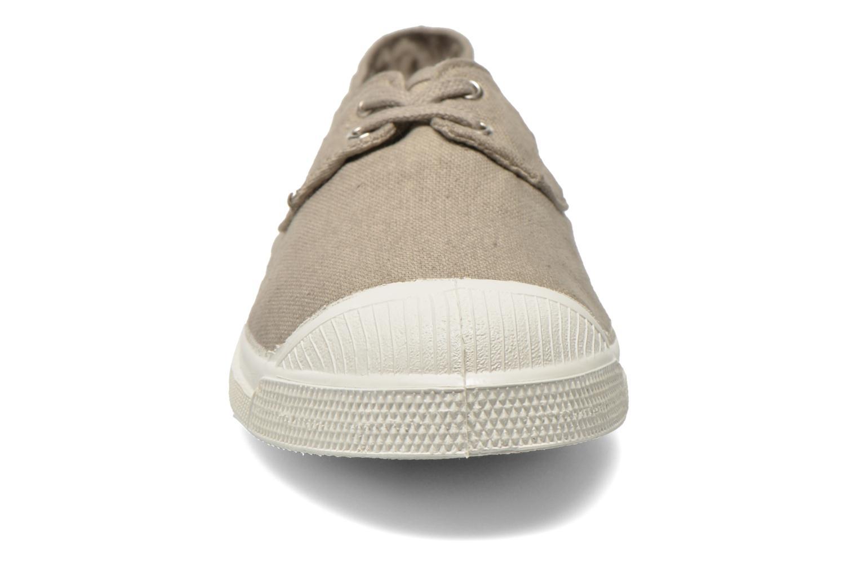 Baskets Bensimon Tennis bateau Gris vue portées chaussures