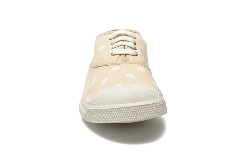 Baskets Bensimon Tennis Pastel Pastilles Beige vue portées chaussures