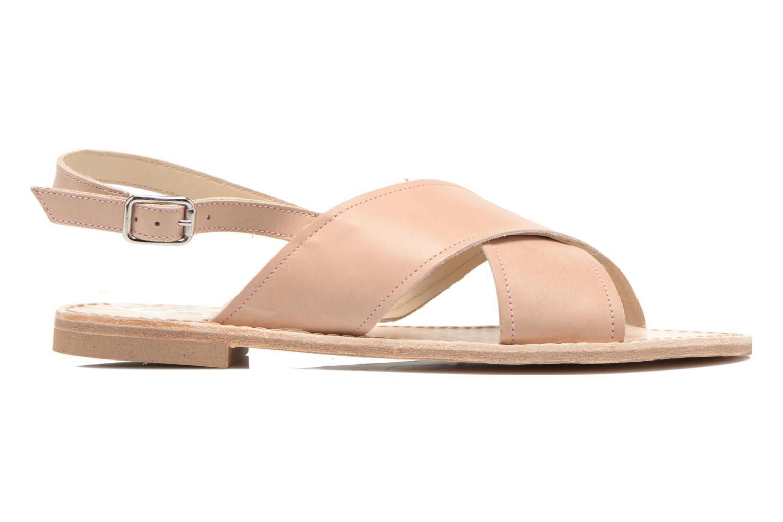 Sandales et nu-pieds Bensimon Sandale Moine Beige vue derrière