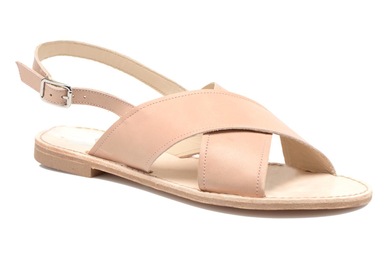 Sandales et nu-pieds Bensimon Sandale Moine Beige vue détail/paire