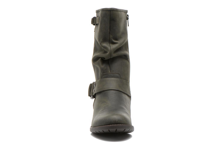Bottines et boots Hush Puppies Emelee overton Vert vue portées chaussures