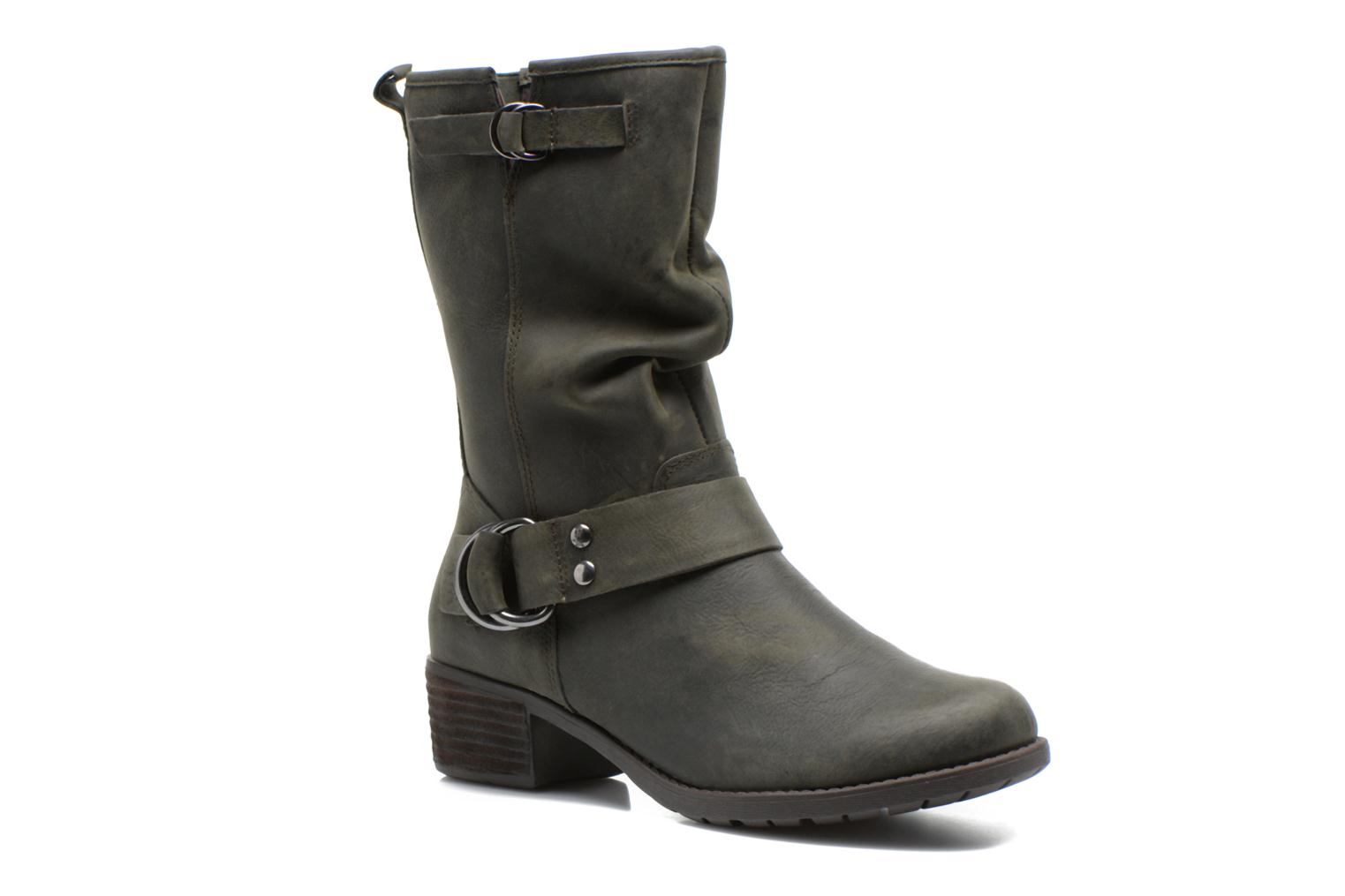 Emelee overton dark olive wp leather