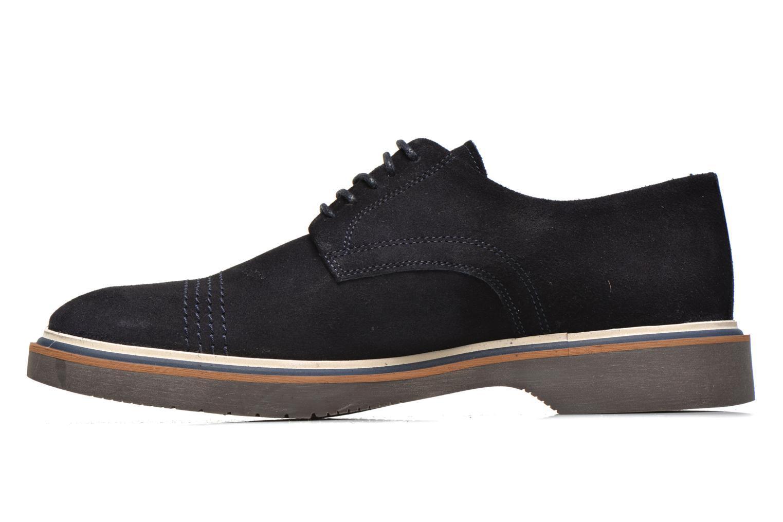 Chaussures à lacets Schmoove Drum Derby Bleu vue face