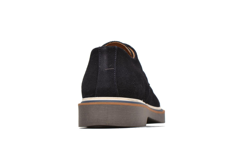 Chaussures à lacets Schmoove Drum Derby Bleu vue droite