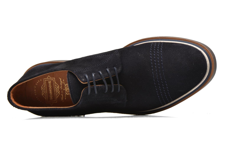 Chaussures à lacets Schmoove Drum Derby Bleu vue gauche