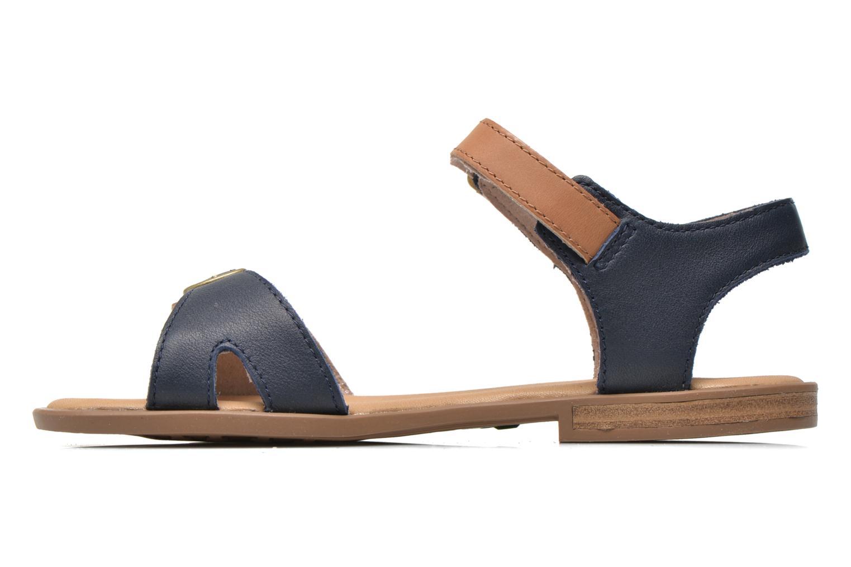 Sandales et nu-pieds Timberland Girls Sheafe Sandal Bleu vue face