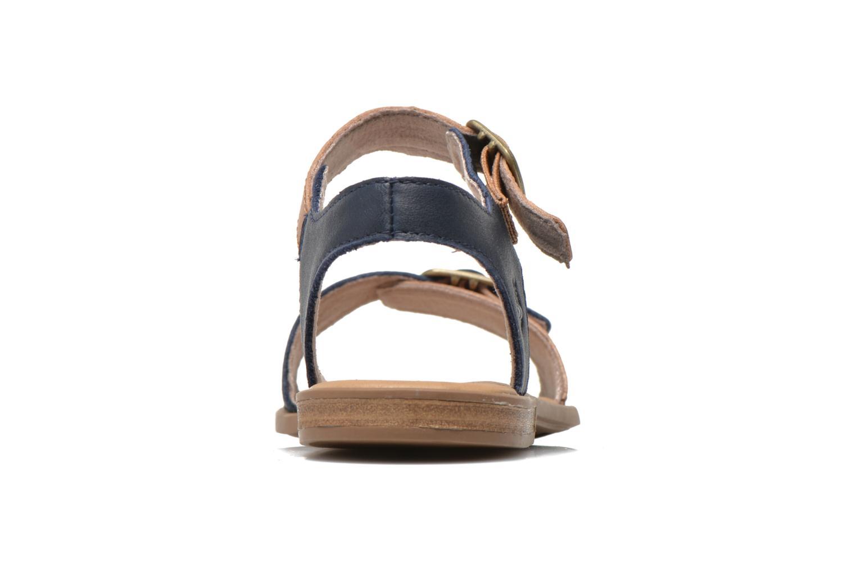 Sandales et nu-pieds Timberland Girls Sheafe Sandal Bleu vue droite