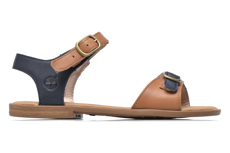 Sandales et nu-pieds Timberland Girls Sheafe Sandal Bleu vue derrière