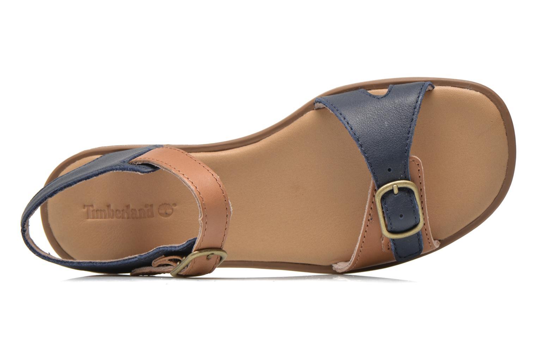 Sandales et nu-pieds Timberland Girls Sheafe Sandal Bleu vue gauche