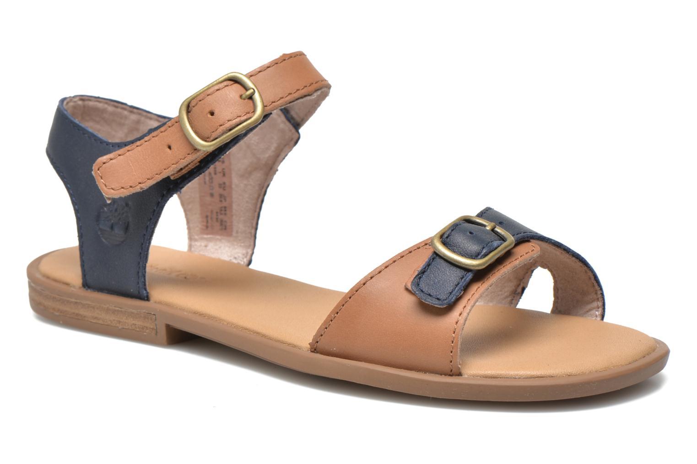 Sandales et nu-pieds Timberland Girls Sheafe Sandal Bleu vue détail/paire